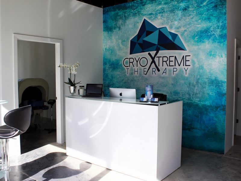 CryoXtreme Reception Area